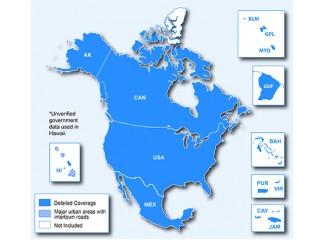 Карта для GPS Garmin City Navigator North America 2015 NT