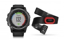 Часы для спорта и туризма Garmin Fenix 3 Sapphire HR Gray HRM-Run